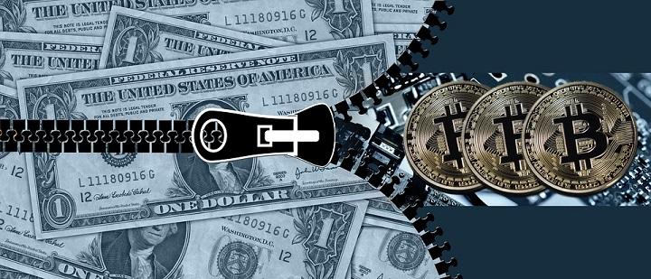 bitcoin ontstaan