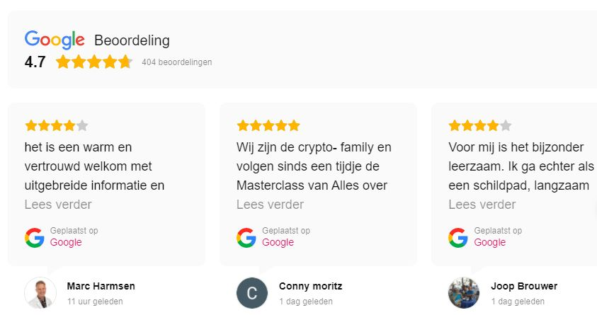 alles over crypto ervaringen